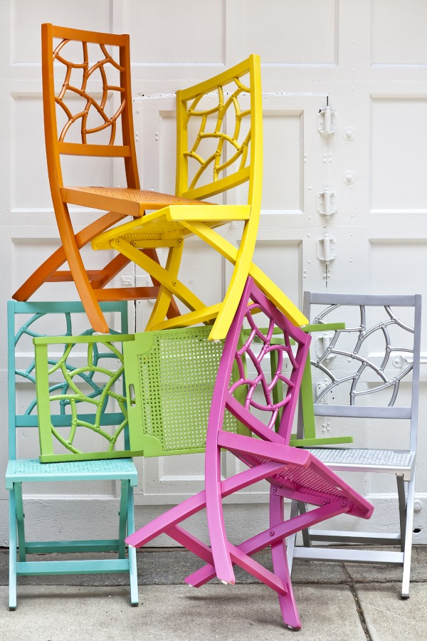 Color Boost Fifi Folding Chairs